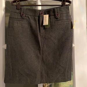 NWT Whoa Eddie Bauer skirt. Dark gray size 2